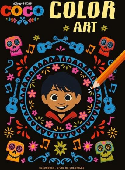 Disney Coloring Book Color Art Coco 30 Cm Internet Toys