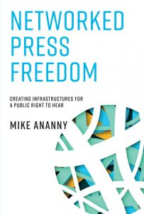 Couverture du livre Networked press freedom