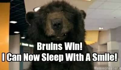 Bruins Victory Bear