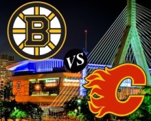 Bruins v Flames