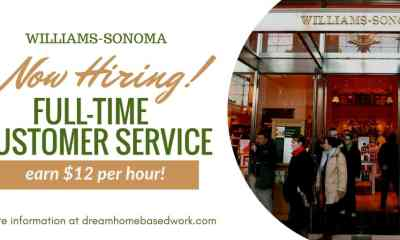 Work from Home Customer Service Job