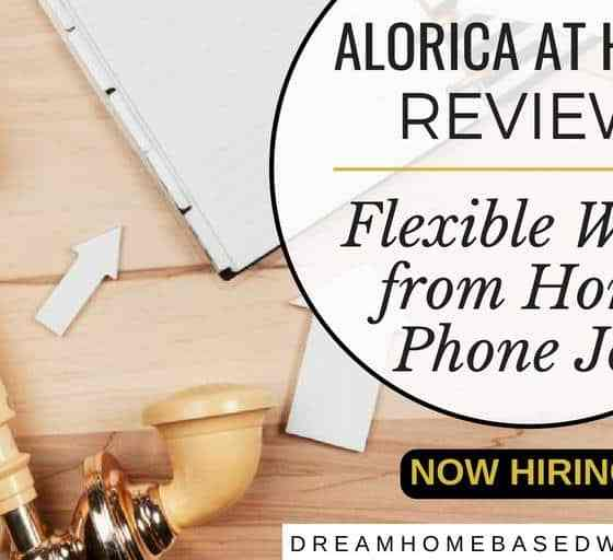 Flexible Work from Home Phone Job