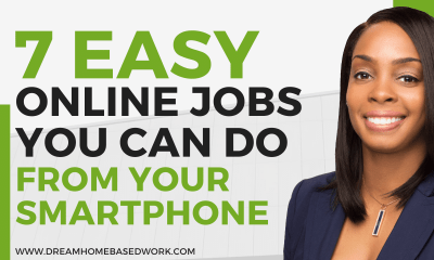 7 Easy Online Jobs Paying $500 Per Month from Your Smartphone