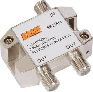 BAMF 2-Way Coax Cable Splitter Bi-Directional
