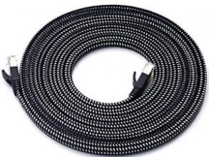 DanYee Nylon Braided Cat 7 Ethernet Cable