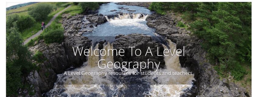 A A Level Geography Screenshot