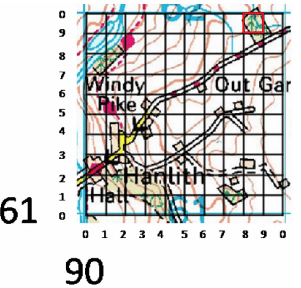 6 figure grid references