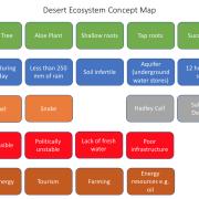 Desert concept map key words