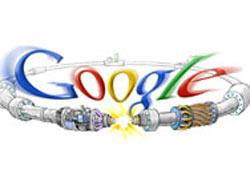 Büyük patlama Google'da