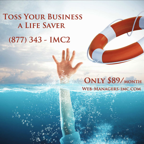 Toss Your Business A Life Saver Only $89/month.