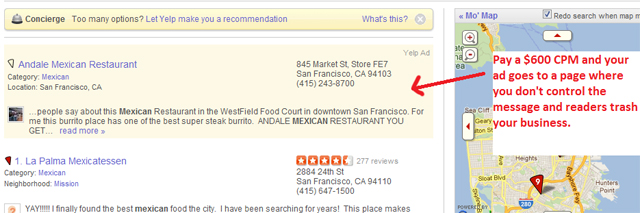 Yelp Advertising Small Business.