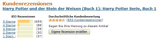 Kindle E-Books Negative Rezensionen