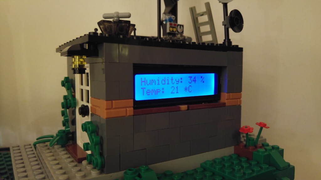 Lego Weather Station - IoT concepts | element14 | Arduino Projects