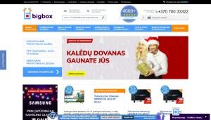 Internetinė parduotuvė | Bigbox.lt