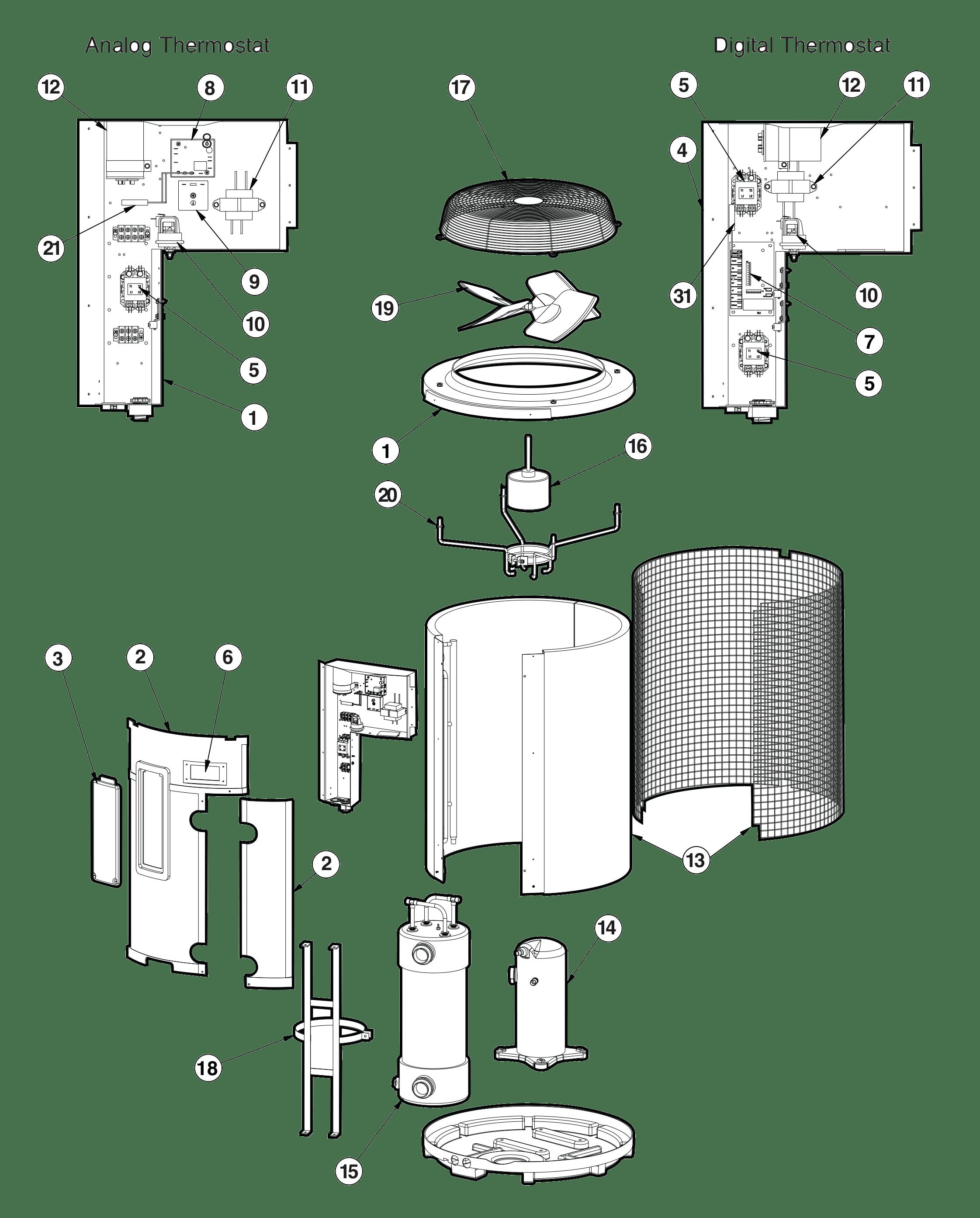 Jandy Pool Heater Wiring Diagram
