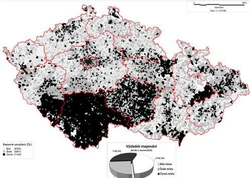 Kde už je podle mapy NGA skoro všude?