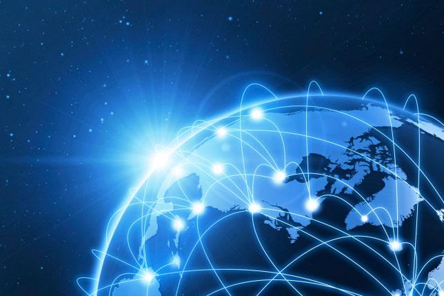 conectividad de internet satelital