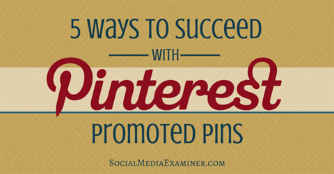 succeed with promoted pins