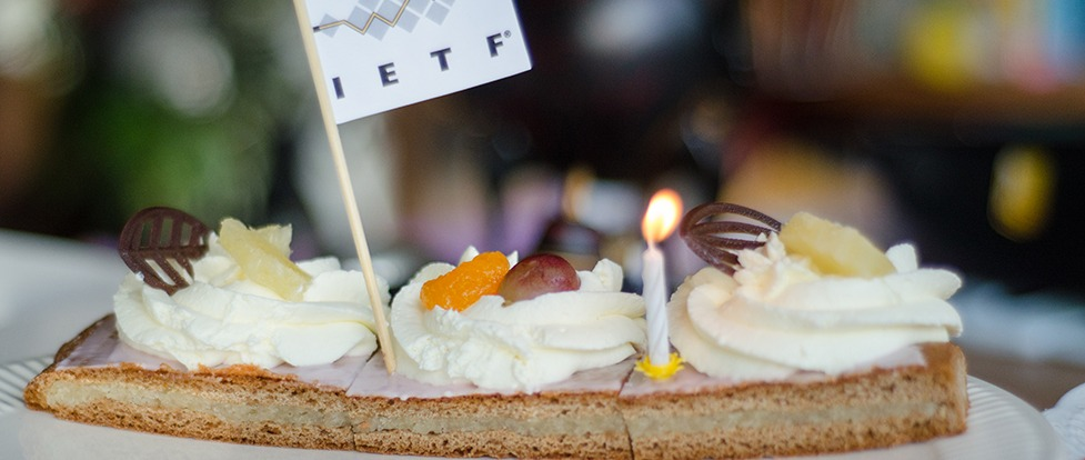 Happy 30th Birthday to the IETF!