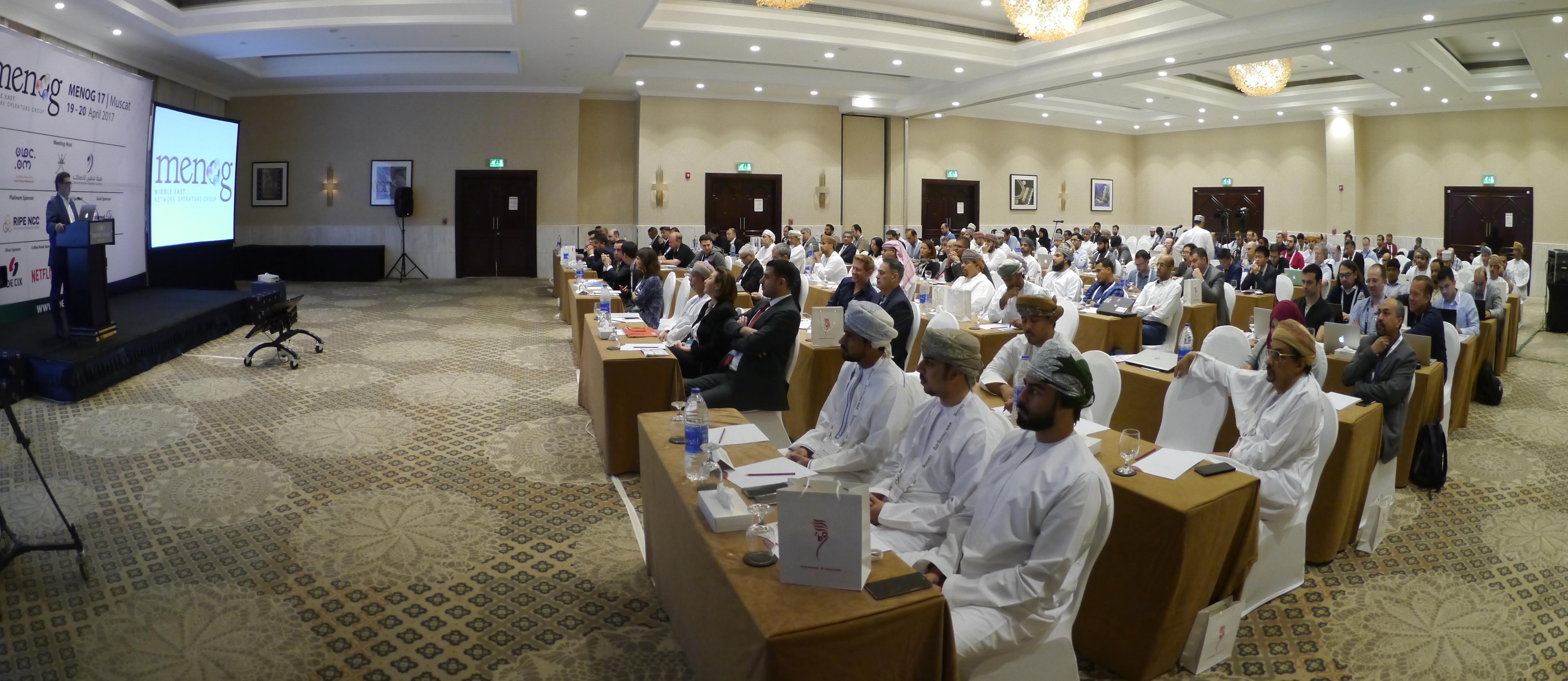 Internet Society Middle East Regional Bureau Participates in MENOG 17