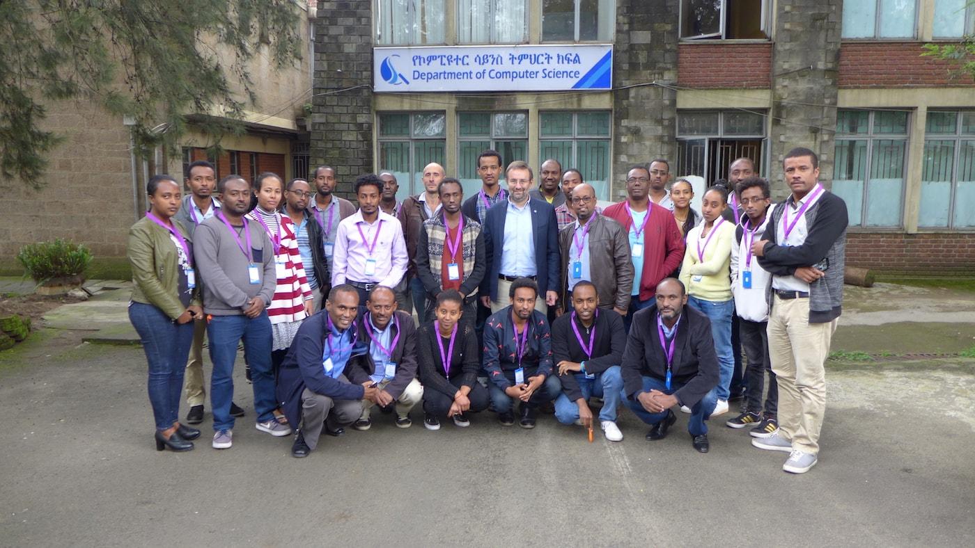 Premier atelier pratique sur l'IdO pour accroître la sensibilisation et l'intérêt dans les universités éthiopiennes