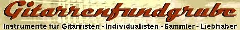 Die Gitarrenfundgrube - Instrumente für Gitarristen, Individualisten, Sammler, Liebhaber