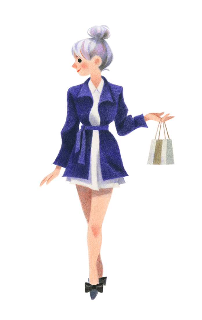 fashion Illustrations by Genevieve Godbout