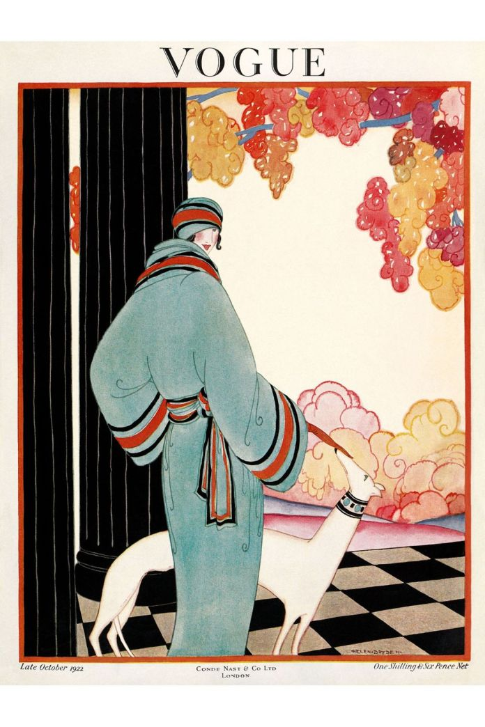 vintage vogue magazine covers