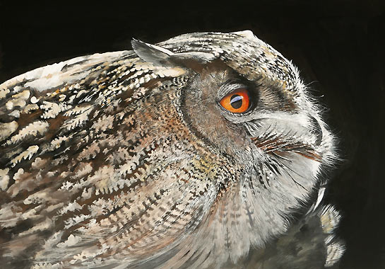 SnowyOwl_birds_painting