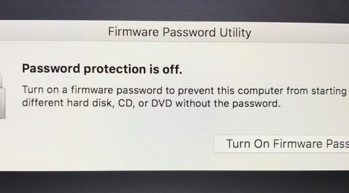 Password Utility reset