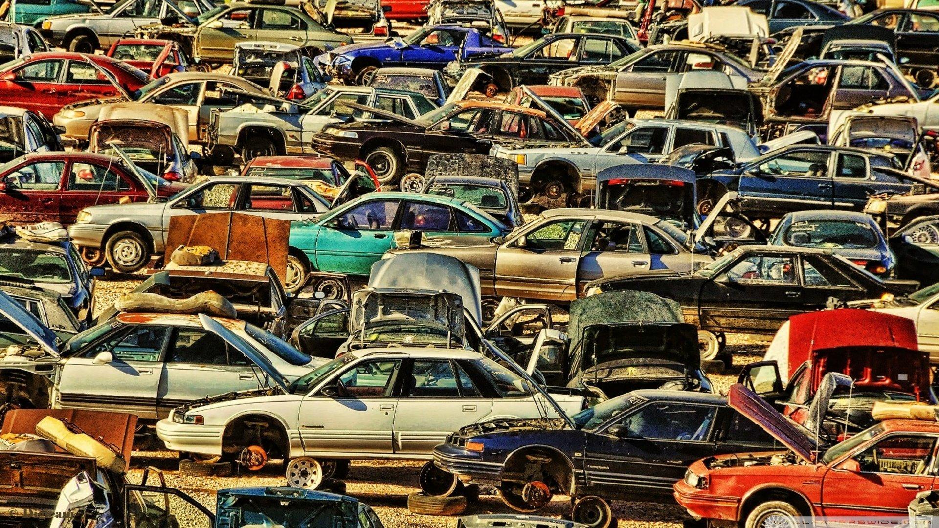 Cars Cemetery