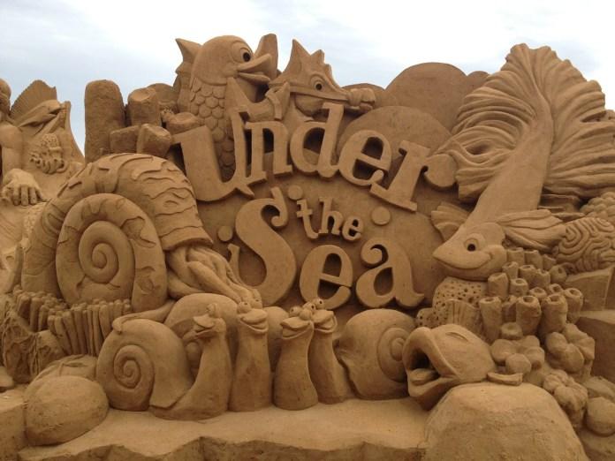 sand building
