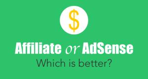 Affiliate Marketing vs. Google Adsense