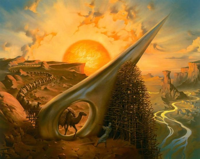 abstract_paintings_Vladimir_Kush