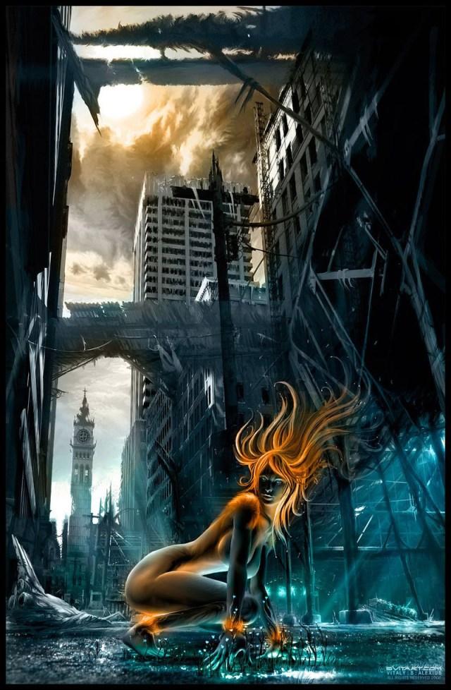 apocalypse art by Vitaliy Samarin