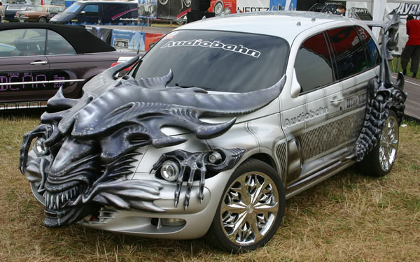 PT Cruiser Tuning - Alien is back