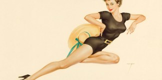 The Collection of Pictures of Vintage Pin Up Girls