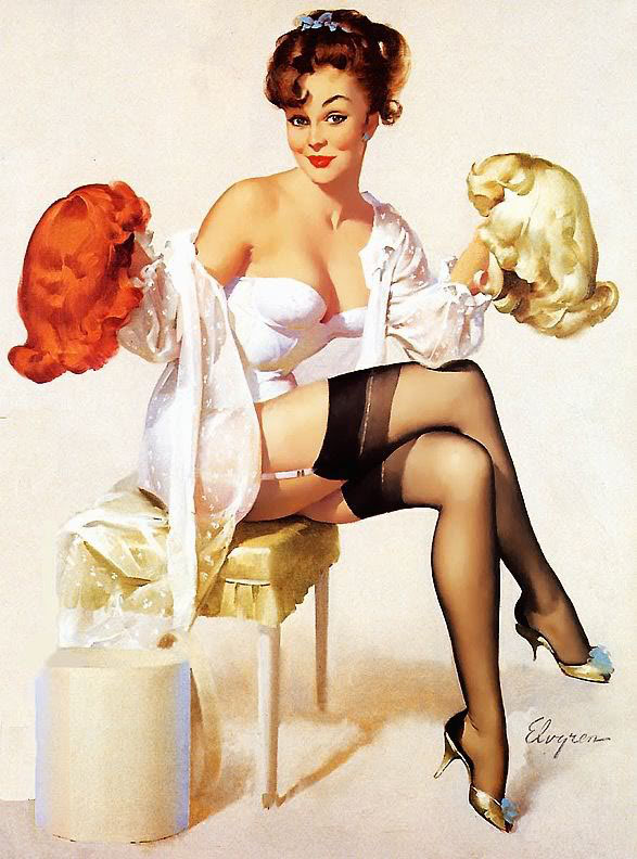 pin up girl style Vintage
