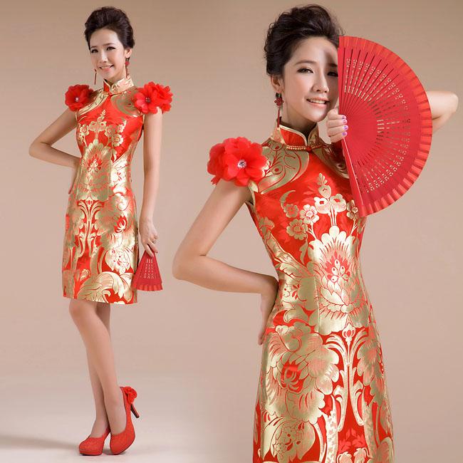 Asian-inspired-mandarin-red-Chinese-dress (25)
