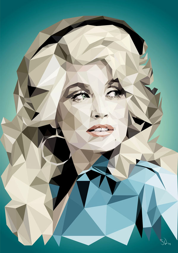 dolly-parton-3D-Illustrations-Suzanne-Waters