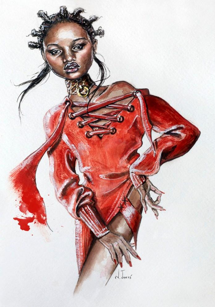 Fashion-Illustrations-by -Natalia-Jheté.