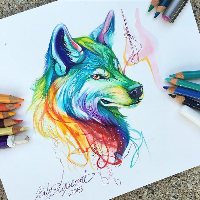 Pencil_Marker_Animal_illustrations_By_Katy_Lipscomb (7)
