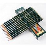 Faber-Castell Pencils, Castell 9000 graphite pencils, HB Pencil, 12 pack (HB)