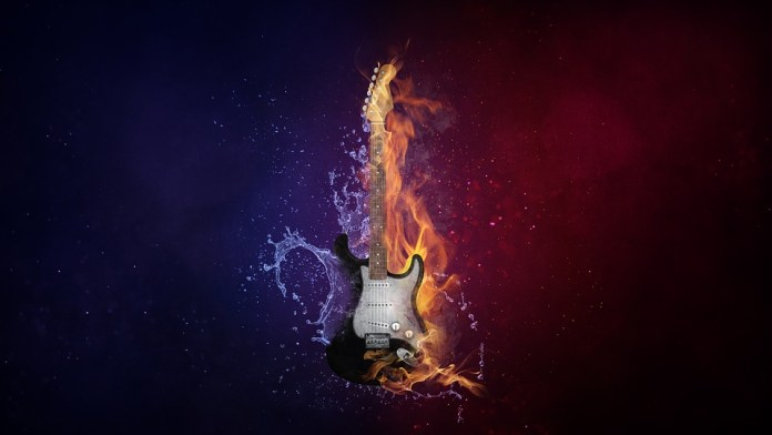 guitar-how to make photo manipulation look real