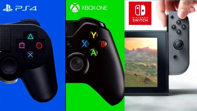 PS4 vs. Switch vs. Xbox One