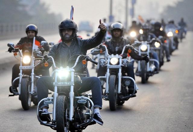 Biker Leather Motorcycle Vest_5