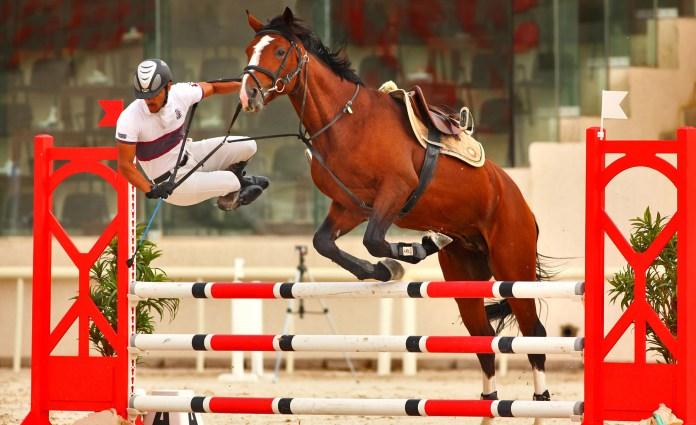 "By Maitham Al Misry, ""Horse jump"" (Kuwait)"