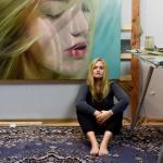 paintings of beautiful women_Reisha Perlmutter