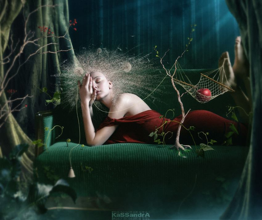 Dasha Astafieva photo manipulations