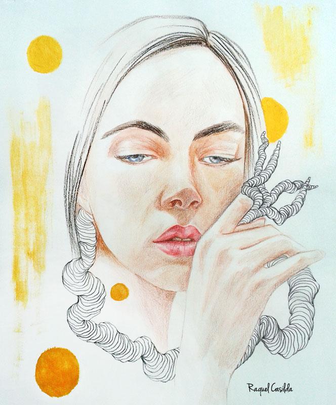 Sea of Wind, illustration by Raquel Casilda